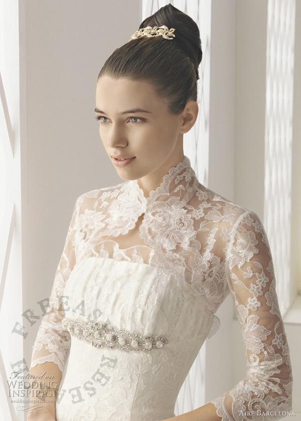 Grace kelly lace wedding dresses freeasy bridal for Grace and lace wedding dresses