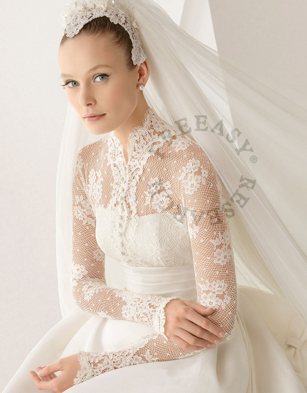Grace Kelly classy wedding gown – G09 | FREEASY BRIDAL
